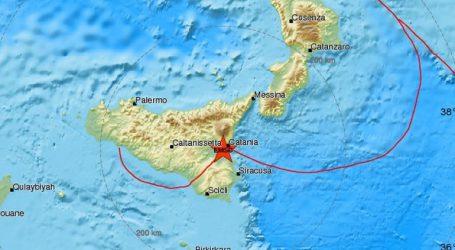 Σεισμός 4,8R στη Σικελία