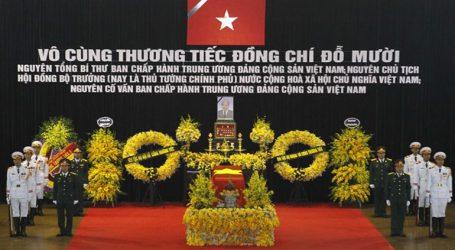Με κρατικές τιμές κηδεύτηκε ο πρώην πρωθυπουργός και Γ.Γ. του Κομμουνιστικού Κόμματος