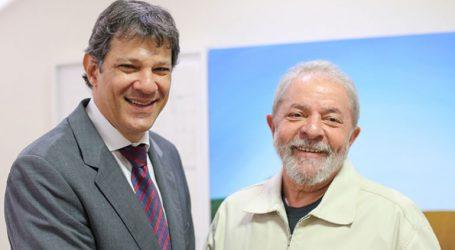 Ο Λούλα προτρέπει τους συμπολίτες του να ψηφίσουν τον Αντάτζι