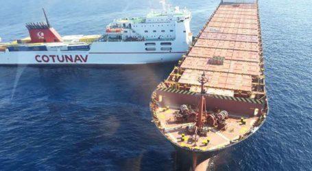 Μεγάλη διαρροή καυσίμων μετά τη σύγκρουση ενός τυνησιακού και ενός κυπριακού πλοίου ανοικτά της Κορσικής