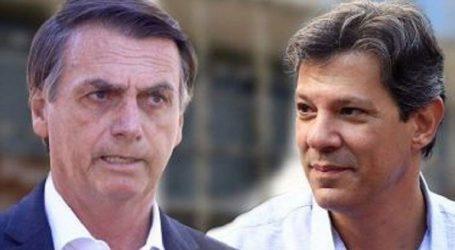 Μπολσονάρου και Αντάτζι στον δεύτερο γύρο των προεδρικών εκλογών