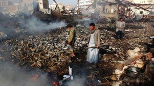 Νεκροί 79 σιίτες αντάρτες και επτά άμαχοι σε αεροπορικές επιδρομές