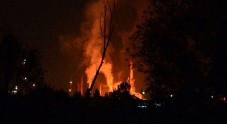 Οκτώ τραυματίες από την έκρηξη σε διυλιστήριο πετρελαίου