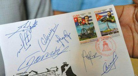 Κυκλοφορεί γραμματόσημο με τη φιγούρα του Φιντέλ Κάστρο