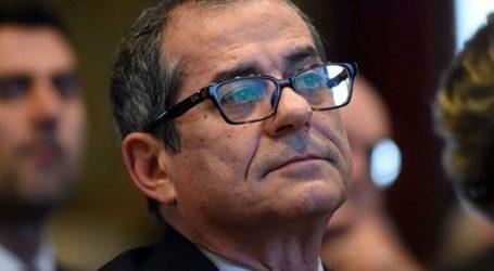 Ο Ιταλός υπουργός Οικονομικών αναλύει τον προϋπολογισμό στο κοινοβούλιο