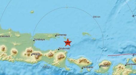 Σεισμική δόνηση 6R στα ανοιχτά των νησιών Ιάβα και Μπαλί