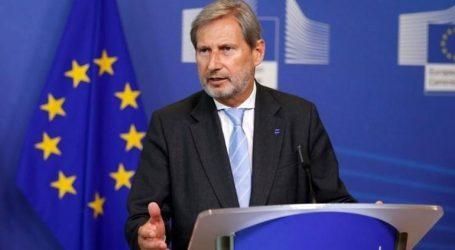 Επικρίνει ο Ευρωπαίος Επίτροπος Γιοχάνες Χαν το «VMRO» για τη θέση του κατά της Συμφωνίας των Πρεσπών