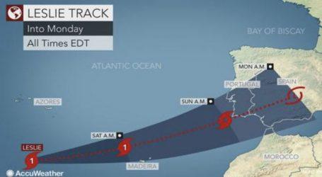 Σε κόκκινο συναγερμό η Πορτογαλία για τον ισχυρότερο κυκλώνα των τελευταίων 180 ετών
