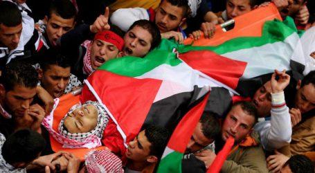 Λαϊκό προσκύνημα στις κηδείες επτά ανθρώπων που σκοτώθηκαν από ισραηλινές σφαίρες