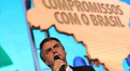 Ο Μπολσονάρου «υποδαυλίζει τη βία» δηλώνει ο υποψήφιος της αριστεράς