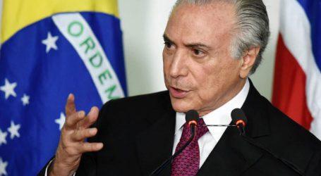 Σε κλοιό ο πρόεδρος της Βραζιλίας