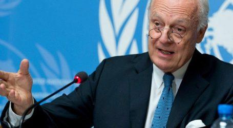 Αποχωρεί από τη θέση του ειδικού απεσταλμένου για τη Συρία ο Στάφαν ντε Μιστούρα