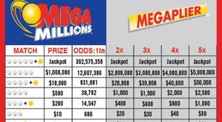 1 δισεκατομμύριο δολάρια τα τζακποτ του Mega Millions