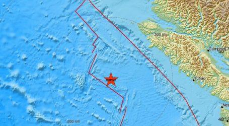 Σεισμός 6,6R ανοικτά της νήσου Βανκούβερ στον Καναδά