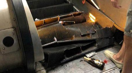 24 τραυματίες από κατάρρευση σκάλας στο μετρό της Ρώμης