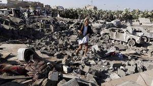 Τουλάχιστον 16 νεκροί σε αεροπορικό βομβαρδισμό εργοστασίου συσκευασίας τροφίμων