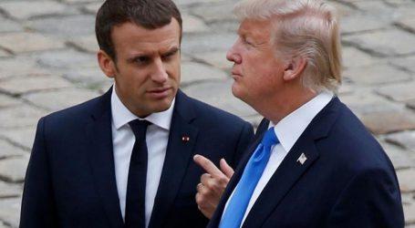 Τηλεφωνική επικοινωνία Μακρόν – Τραμπ για τη Συρία