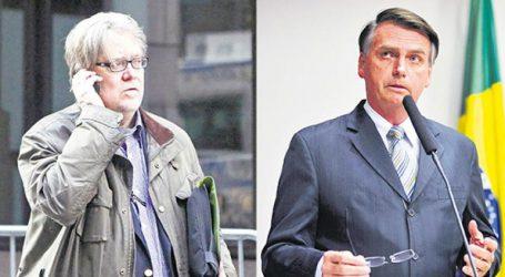 Ο Μπάνον υποστηρίζει τον Μπολσονάρο στις εκλογές της Κυριακής