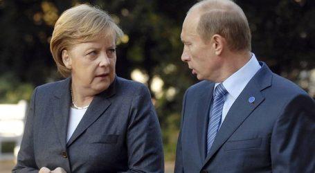 Συνάντηση Πούτιν – Μέρκελ λίγο πριν τη σύνοδο για τη Συρία