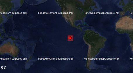 Σεισμός 5,8R στον Ειρηνικό Ωκεανό