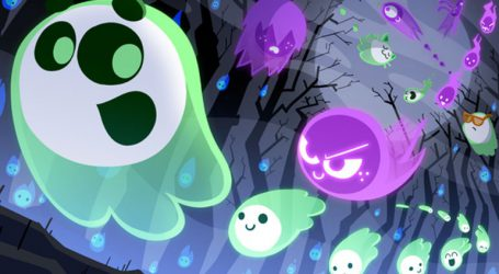 Αφιερωμένο στο Halloween το σημερινό doodle της Google