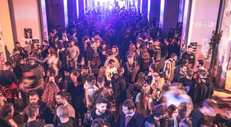Εντυπωσιακό πάρτυ στη Στοά Ματσάγγου στον Βόλο [εικόνες]
