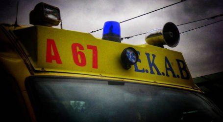 Οδηγός νταλίκας τραυματίστηκε θανάσιμα έξω από την Ηράκλεια Σερρών