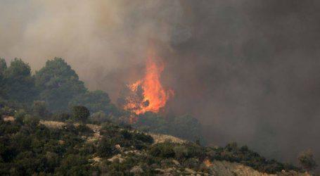 Καλύτερη η εικόνα της μεγάλης πυρκαγιάς στη Χαλκιδική