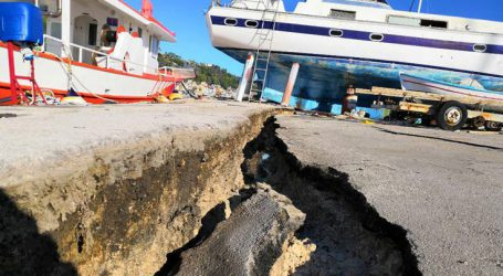 Το νησί άντεξε σε ένα πολύ δυνατό σεισμό