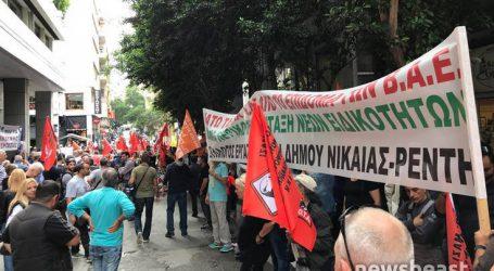 Κλειστή η Φιλελλήνων από τη συγκέντρωση της ΠΟΕ – ΟΤΑ