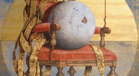 Ο Πασχάλης Αγγελίδης παρουσιάζειτη ζωγραφική του στον Βόλο