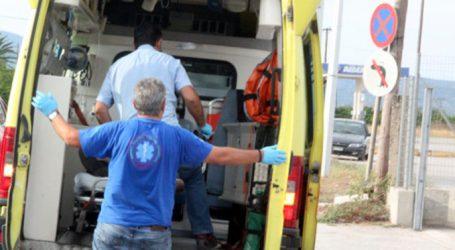 Δύο τραυματίες σε τροχαίο στην οδό Καρδίτσης