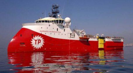 Δύο φρεγάτες και υποβρύχιο του τουρκικού πολεμικού ναυτικού ενισχύουν το Barbaros