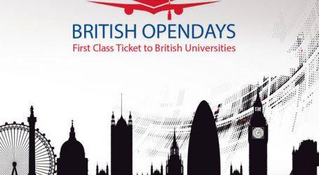Στην Αθήνα η Έκθεση Βρετανικών Πανεπιστημίων BRITISH OPENDAYS 2018