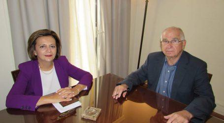 Συνάντηση Χρυσοβελώνη με τον δήμαρχο Σκοπέλου