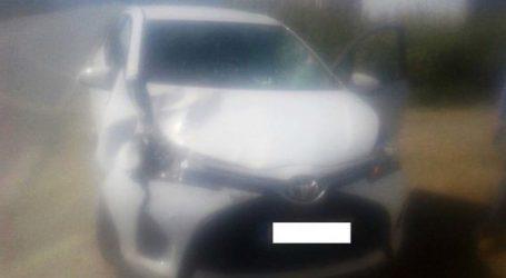 Απίθανο: Αυτοκίνητο τράκαρε με… γάιδαρο έξω από τον Αμπελώνα! (φωτό)