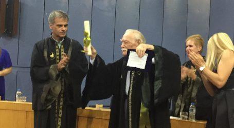 Επίτιμος διδάκτορας του Πανεπιστημίου Θεσσαλίας ο Μανώλης Γλέζος