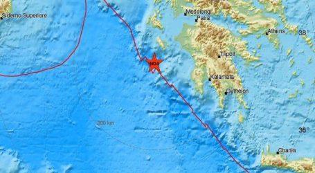 Και τρίτος μεγάλος σεισμός τώρα στη Ζάκυνθο