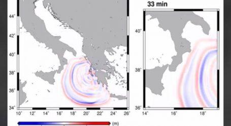 Λεπτό προς λεπτό η πορεία του τσουνάμι μετά τον μεγάλο σεισμό στη Ζάκυνθο