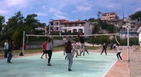 H 5η Πανελλήνια Ημέρα Σχολικού Αθλητισμού στο Γυμνάσιο-Λύκειο Αλοννήσου