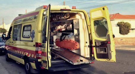 Επιχείρηση από το ΕΚΑΒ για μεταφορά υπέρβαρου ασθενούς στο Νοσοκομείο Βόλου