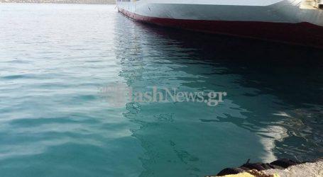 Αυτοκίνητο έκανε βουτιά μέσα στο λιμάνι της Σούδας
