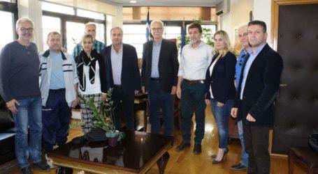 Επίσκεψη δασκάλων στον Καλογιάννη με αφορμή το πανελλήνιο πρωτάθλημα Συλλόγων Εκπαιδευτικών Π.Ε στη Λάρισα