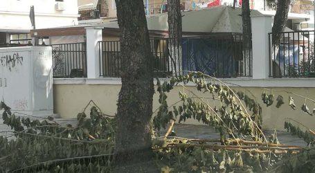 Πεζοδρόμιο με …εμπόδια στη Λάρισα – Διαμαρτύρονται οι κάτοικοι (φωτό)