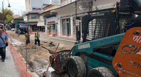 Προσωρινές κυκλοφοριακές ρυθμίσεις στο κέντρο της Λάρισας λόγω έργων της ΔΕΥΑΛ