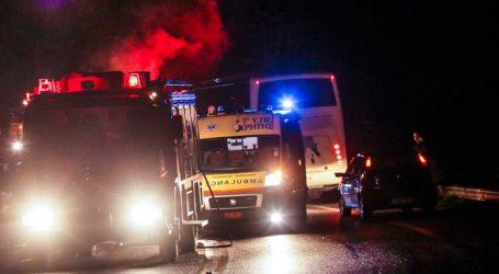 Θανατηφόρο τροχαίο στον παράδρομο της εθνικής οδού στη Ριτσώνα