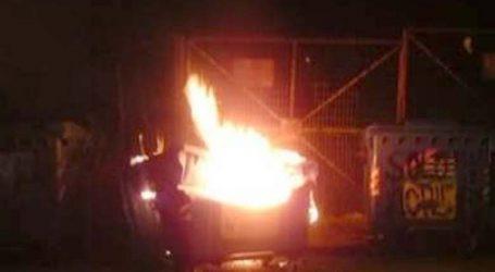 Έβαλαν φωτιά σε 18 κάδους σε μία βδομάδα στη Λάρισα – Ψάχνουν τον… πυρομανή