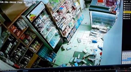 Η στιγμή του ισχυρού σεισμού στη Ζάκυνθο