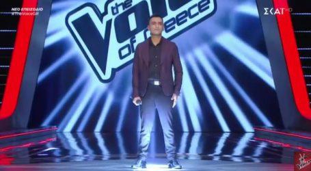 """Λαρισαίος τραγούδησε Μητροπάνο στο """"The Voice"""" και εντυπωσίασε – Δείτε ποιος κριτής τον διάλεξε (φωτο – βίντεο)"""