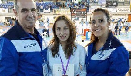 Χάλκινο μετάλλιο η Παπαθεολόγου στο Πανελλήνιο Πρωτάθλημα Καράτε Νέων Γυναικών